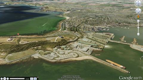 Как вводить координаты в Google Earth