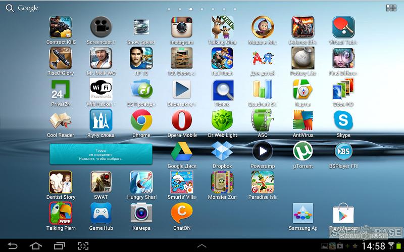 андроид приложения для планшета - фото 2