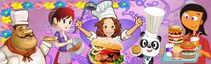 Игры для девочек готовим еду новые краски