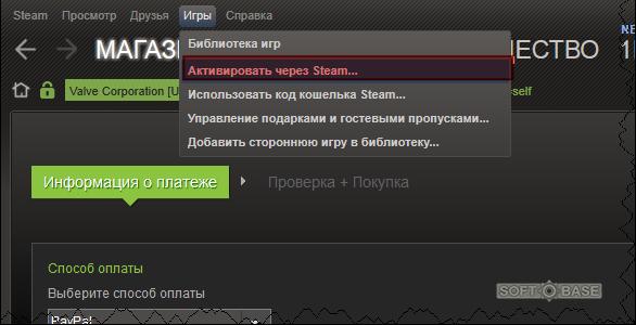 как активировать игру в Steam - фото 8