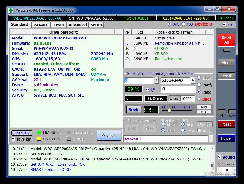 Victoria hdd free download for windows 10, 7, 8 (64-bit/32-bit).